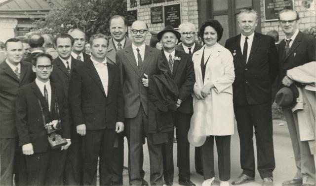 Бугаєнко Г. О. з колегами 1973